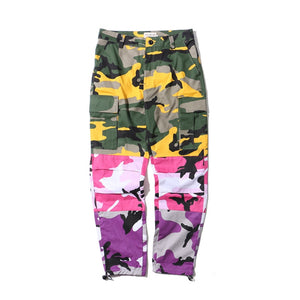 Trippy Tri Color Camo - kantaloupe clothing