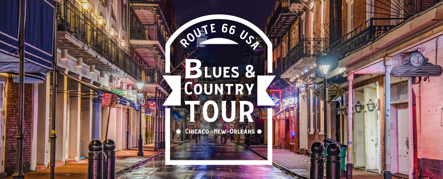 Blues & Country Tour - Chicago-New Orleans