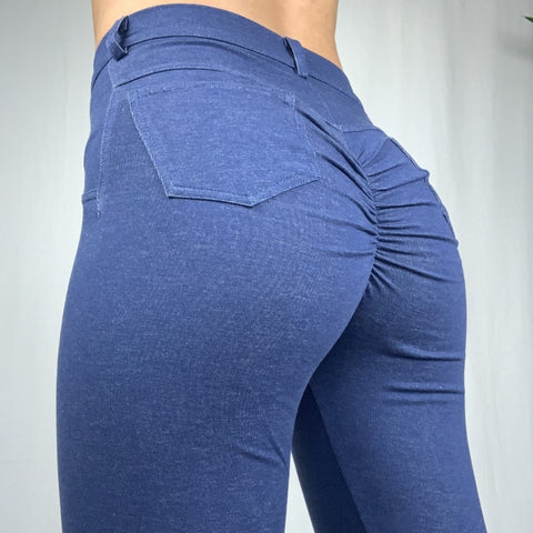 ABS2B - Leggings Jeans (Mörkblå)