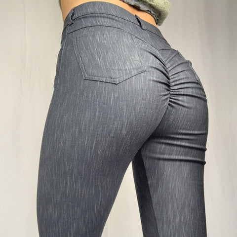 ABS2B - Leggings Jeans (Mörkgrå)