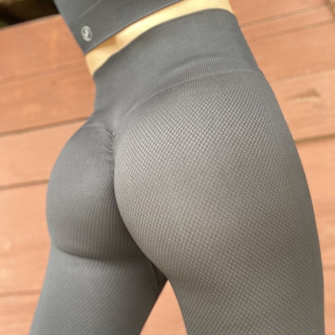 ABS2B - Seamless Leggings (Svart)