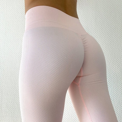 ABS2B - Seamless Leggings (Ljusröd)
