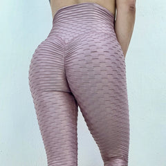 ABS2B - Zero Flaw Leggings (Metallic Rosa)