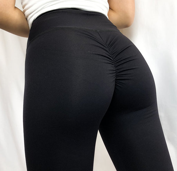 ABS2B - High Waist Leggings Marilyn (Svart)