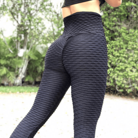 ABS2B - Zero Flaw Leggings (Svart)