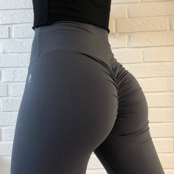 ABS2B - High Waist Leggings Marilyn (Anthrazit)