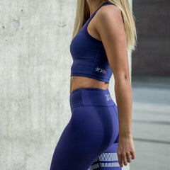 BARA - High Waist Ocean Signatur Leggings