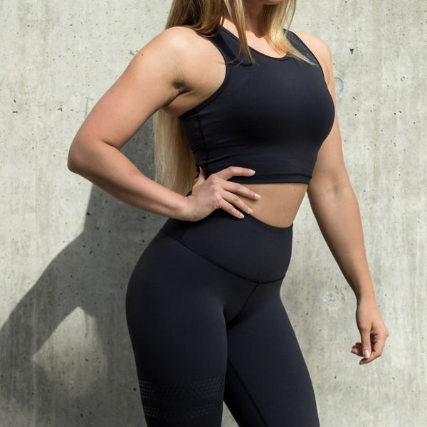 BARA - Shape Sports Bra (Svart)