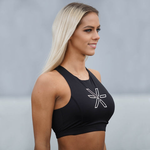 BARA - Blackberry Sports Bra (Svart)