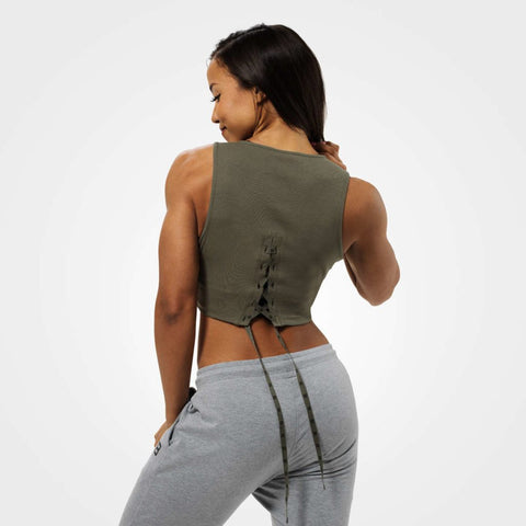 BB - Astoria Laced Tank (Khaki)