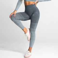 Gym Glamour - Ombre Leggings (Grå)
