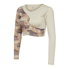 Hummel® - Lotus Crop Top (Vit)