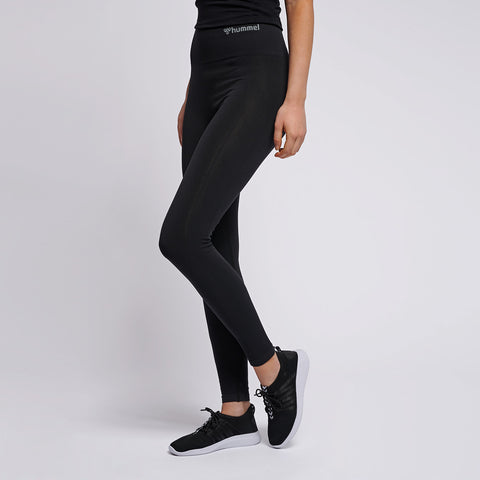 Hummel® - TIF High Waist Seamless Leggings (Svart)