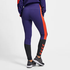 Hummel® - Toss Leggings (Blå/Röd)