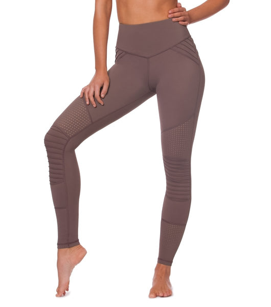 L'urv - Cool Change Moto Leggings (Brun)