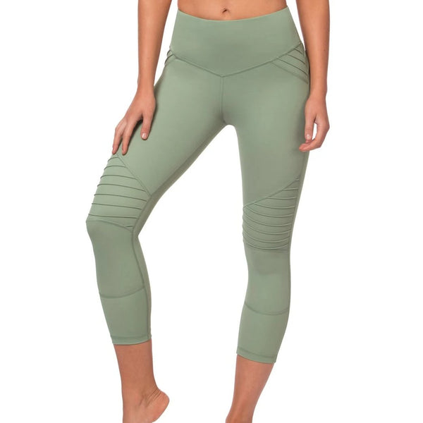 L'urv - Perfect Days 3/4 Leggings (Mint)