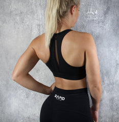 RapidWear - Freedom Sports Bra (Svart)