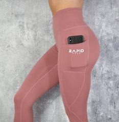 RapidWear - Energy Leggings (Dusty Rosa)
