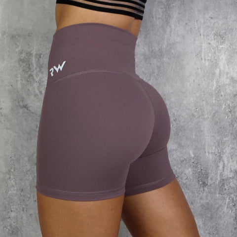 RapidWear - High Waist Shorts (Lila)