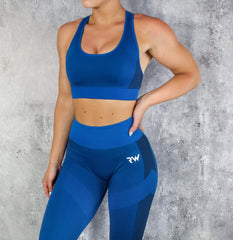 RapidWear - Seamless Force Sports Bra (Blå)