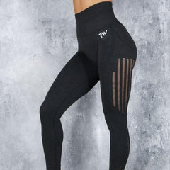 RapidWear - Seamless Shape Leggings (Charcoal)