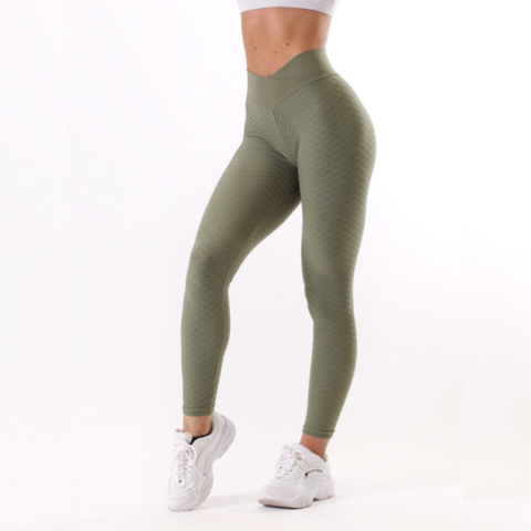 Rapidwear - Iconic V-Cut Scrunch Leggings (Khaki)