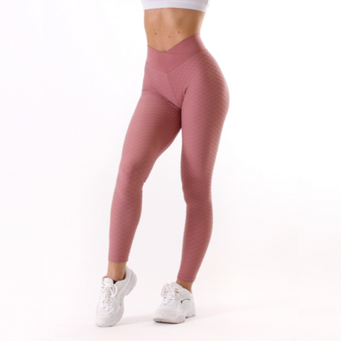 Rapidwear - Iconic V-Cut Scrunch Leggings (Rosa)