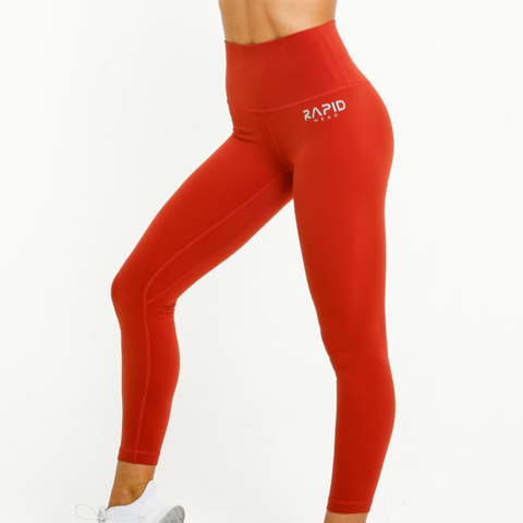 Rapidwear - Ultimate Comfort Leggings (Röd)