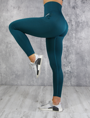 RapidWear - Seamless Comp Leggings (Grön)