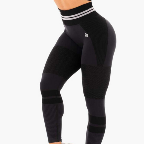 Ryderwear - Freestyle Seamless Leggings (Svart)