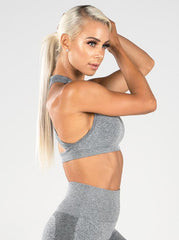 Ryderwear - Seamless Sports Bra (Ljusgrå)