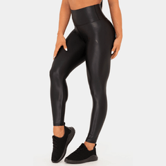 Ryderwear - Wet Look Leggings (Svart)