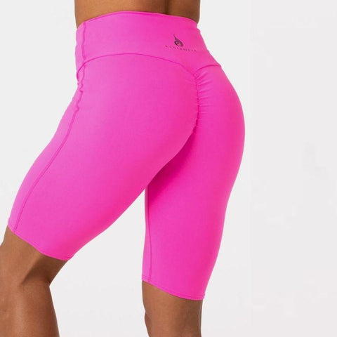 Ryderwear - Scrunch Bike Shorts (Neon Rosa)