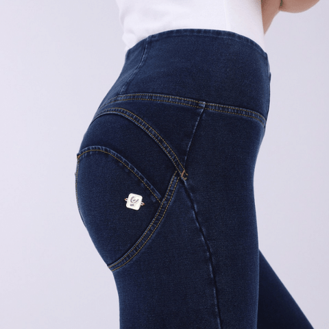 WR.UP® 7/8 High Waist Denim Blå (J0Y)