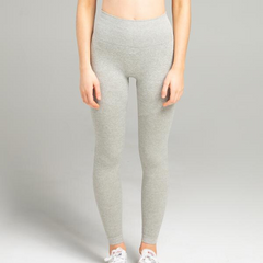 WearWolf - Power Seamless Leggings (Ljusgrå)