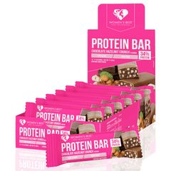 Women's Best - Protein Bar Hazelnut Crunch (12 x 44g)