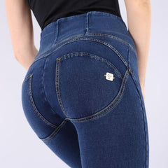WR.UP® High Waist Denim Blå (J0Y)