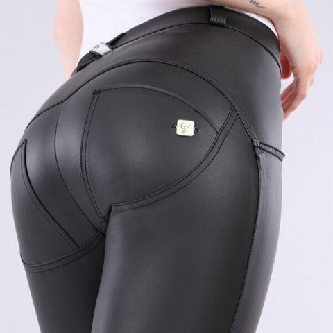 WR.UP® Low Waist Eco Leather Svart (N)