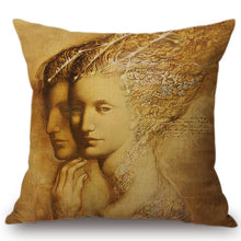 Load image into Gallery viewer, Cushion Cover - Medici Woman