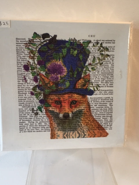 Wall Canvas - The Elegant Mr Fox