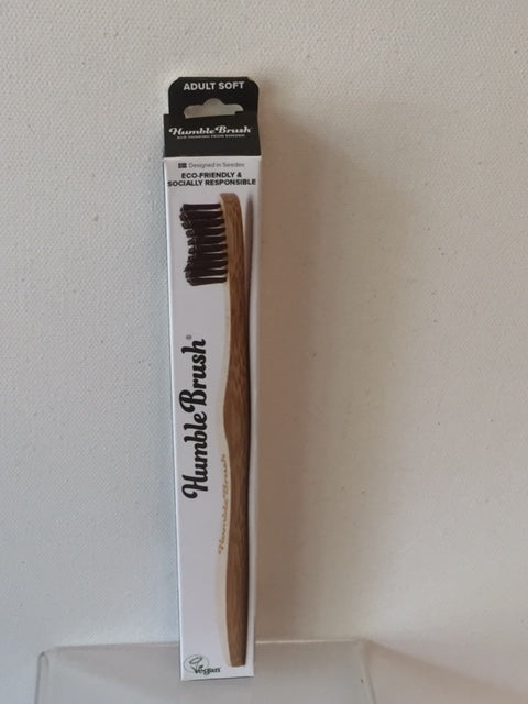 The Humble Brush - Adult Toothbrush (Black)