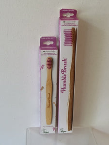 The Humble Brush - Child's Toothbrush (Pink)