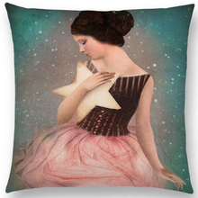 Load image into Gallery viewer, Cushion Cover- Star Heart