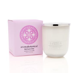 Botanical Wax Candle - Pink Freesia & Rose 375g