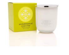 Load image into Gallery viewer, Botanical Wax Candle - Lemongrass & Ginger 375g