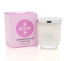 Botanical Wax Candle - Pink Freesia & Rose 140g