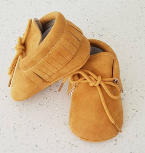 Baby K Cakes - NZ Made Leather Mocassins