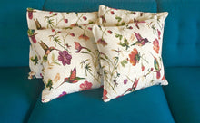 Load image into Gallery viewer, Hummingbird Garden Cushion Covers - LIMITED EDITION