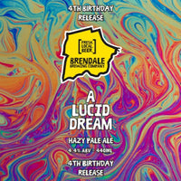 A Lucid Dream - Hazy Pale Ale *** Pre Order ***