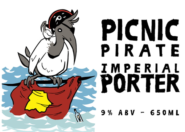 Picnic Pirate Imperial Porter 650ml